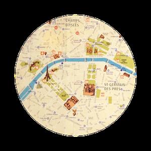 파리 프랑스 지도